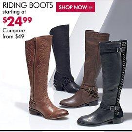 Burlington Coat Factory: Boots from $19.99 (compliments