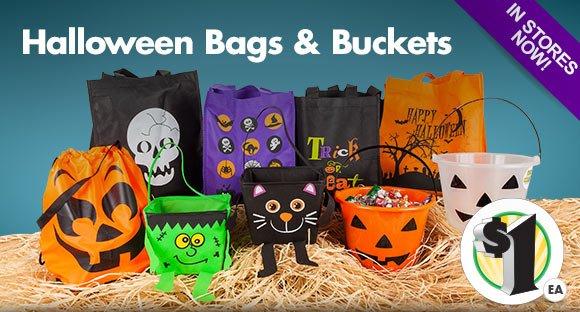 Dollar Tree: Halloween Highlights: Treat Buckets, Candy & Glow ...