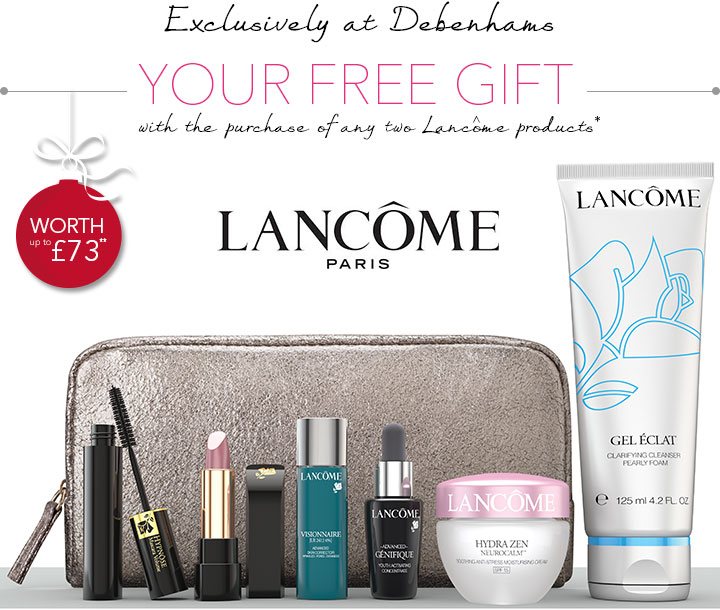 Debenhams: Your FREE Gift From Lancôme | Milled
