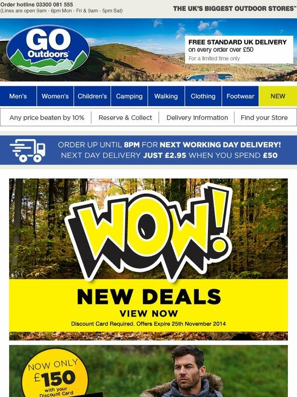 go outdoors wow great new deals from berghaus north. Black Bedroom Furniture Sets. Home Design Ideas