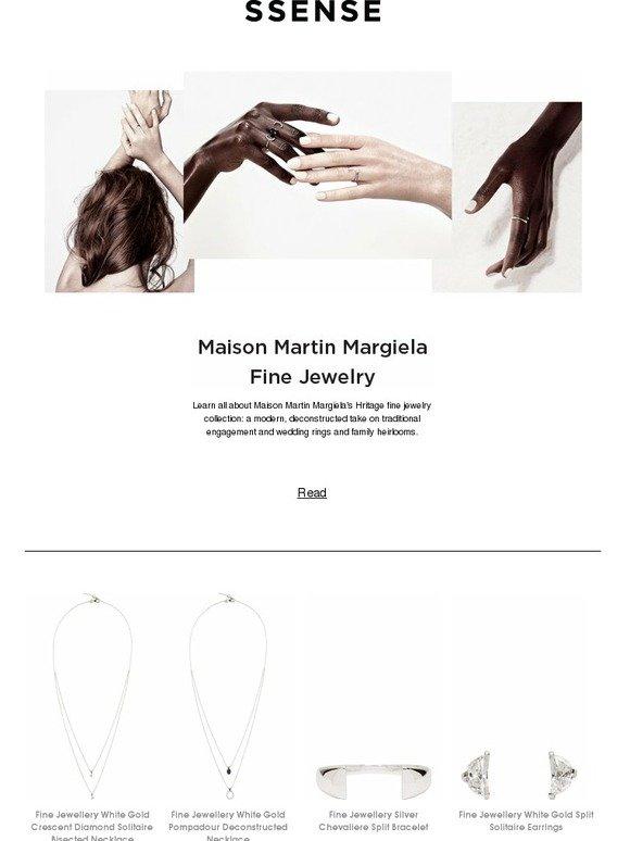 Maison SsenseNew Margiela Fine JewelryMilled To Martin thCxQrds