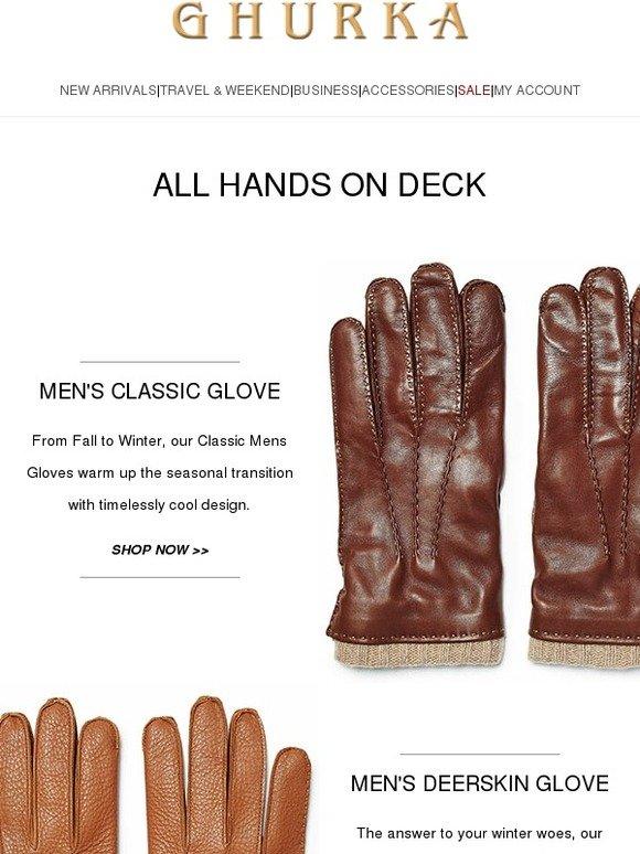 Ghurka : The Men's & Women's Glove Collection