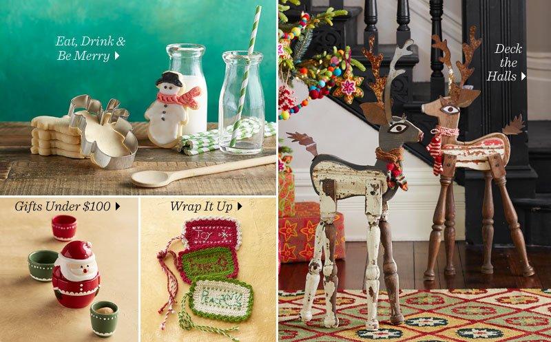 Shop Festive Home Decor For The Holidays