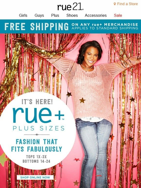 graphic relating to Rue 21 Coupon Printable called Rue 21 free of charge shipping and delivery discount coupons - Mystique ice idea