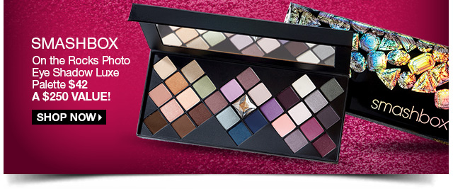 Smashbox Photo Op Eyeshadow Luxe Palette $42 - A $250 Value! Shop Now