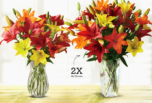 Flowers don t miss out get the lilies for