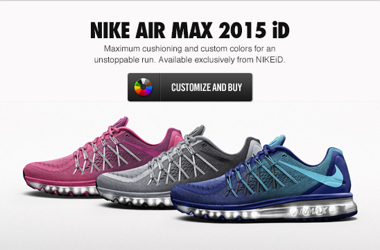 All-New Nike Air Max 2015 iD