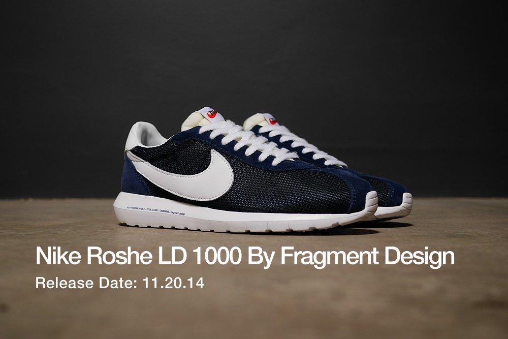 hot sale online 10e60 374fb shop Nike roshe ld 1000 by fragment design
