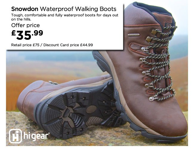 aff998ad1ab Go Outdoors: 20% off North Ridge & Hi Gear clothing and footwear ...