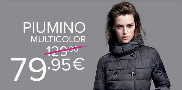 newest 64f45 b5385 motivi: Scopri il Piumino Multicolor e il Total Look della ...
