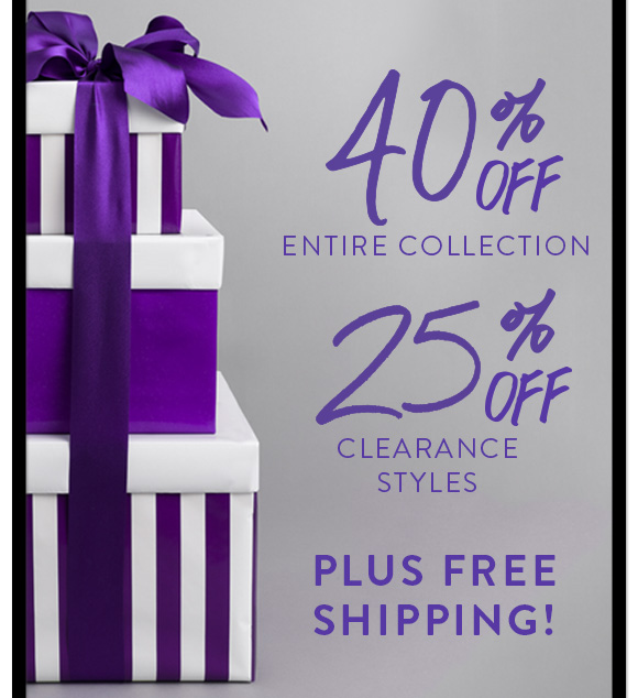 40% OFF | 25% OFF