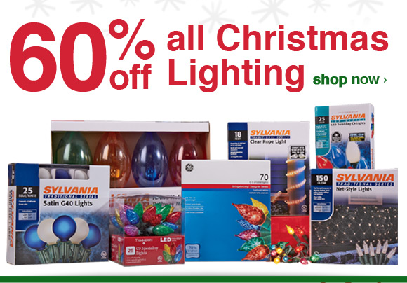 Shopko Warmer Weather 60 Off Christmas Lights Weekend