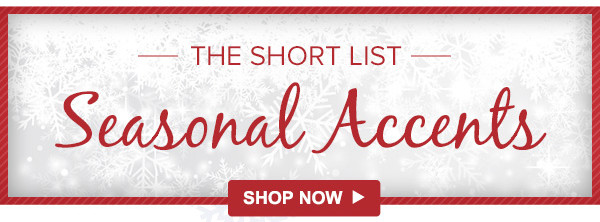 ☃ The Short List: Holiday Edition