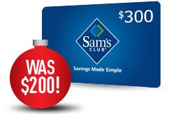 Sam's Club: $300 holiday offer from DIRECTV   Milled