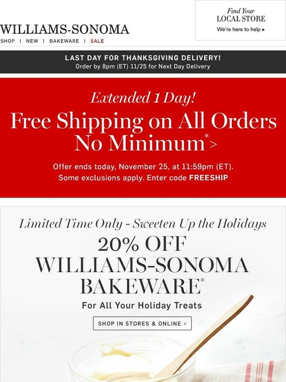 photograph about Williams Sonoma Coupons Printable called William sonoma coupon codes 20 off : Coupon lovely kitty