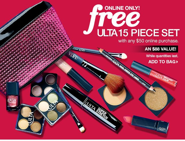 Ulta: Free 15pc Gift Online + Just Added Black Friday Deals | Milled