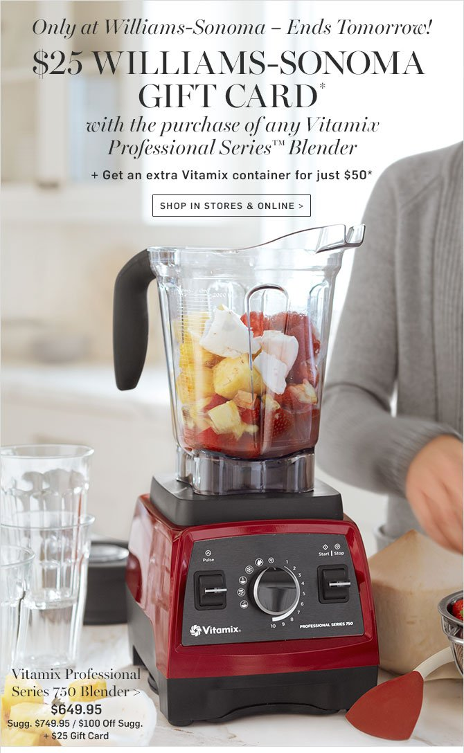 The Vitamix Mother's Day Sale has expired! But wait! We're Vitamix coaches (and new parents!) Shalva and Lenny Gale and we'd love to help you find the right Vitamix .