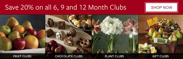 Save 20% on all 6, 9 and 12 Month Clubs - SHOP NOW
