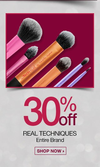 30 Percent Off Real Techniques Entire Brand - Shop Now