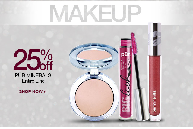 25 Percent Off Pur Minerals Entire Line - Shop Now
