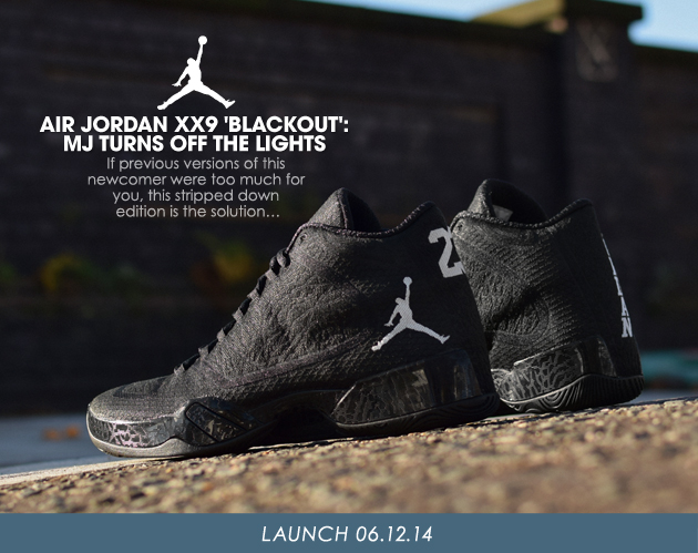 AIR JORDAN XX9 BLACKOUT MJ TURNS OFF THE LIGHTS