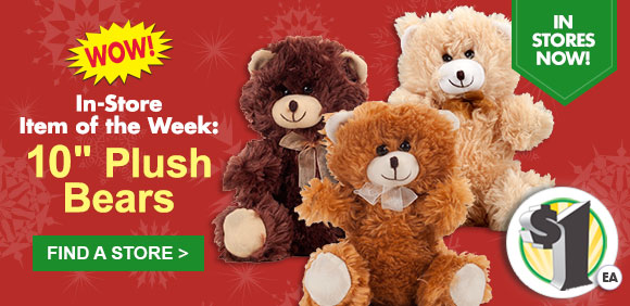 Dollar Tree: Wish them a beary happy holiday with this