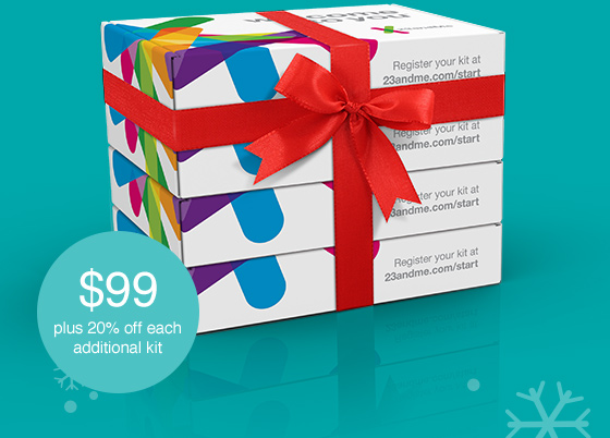 23andMe: Give the Gift of Knowledge | Milled