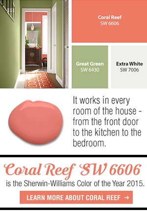 Sherwin Williams Home Introducing Our 2015 Color Of The