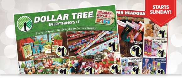 Dollar Tree: We're making spirits bright with our new Christmas ad! | Milled