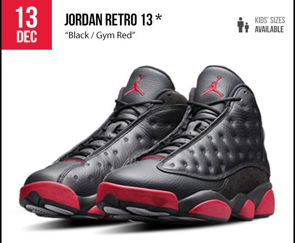 Foot Locker: Releasing tomorrow: Jordan Retro 13, Nike KD7 Ext Suede, and  Kobe 9 EM! | Milled