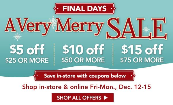 Jo ann fabric and craft store shop must have gifts save for Save on crafts promo code