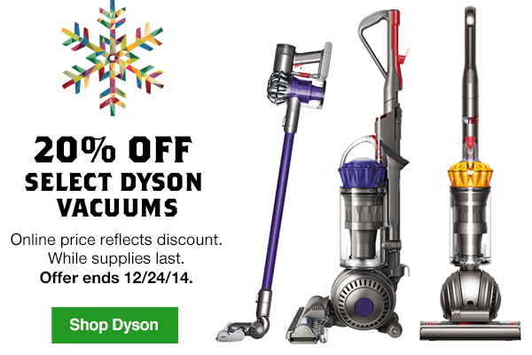 Lowes 20 Off Select Dyson Vacuums Milled