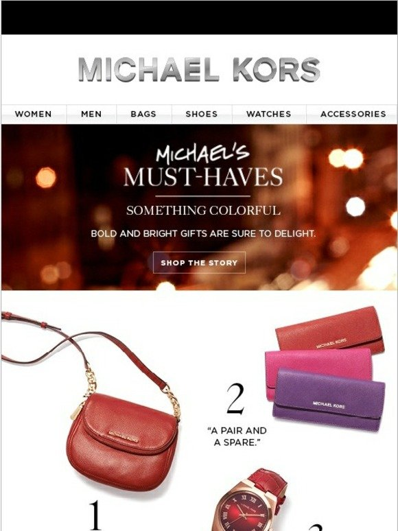 Michael Kors Michael S Must Haves Gifts That Delight