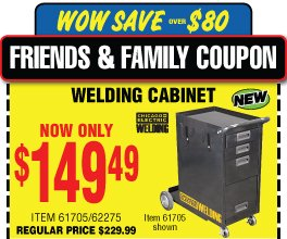 Harbor Freight: FINAL WEEKEND! Get your 25% Off Friends and Family ...