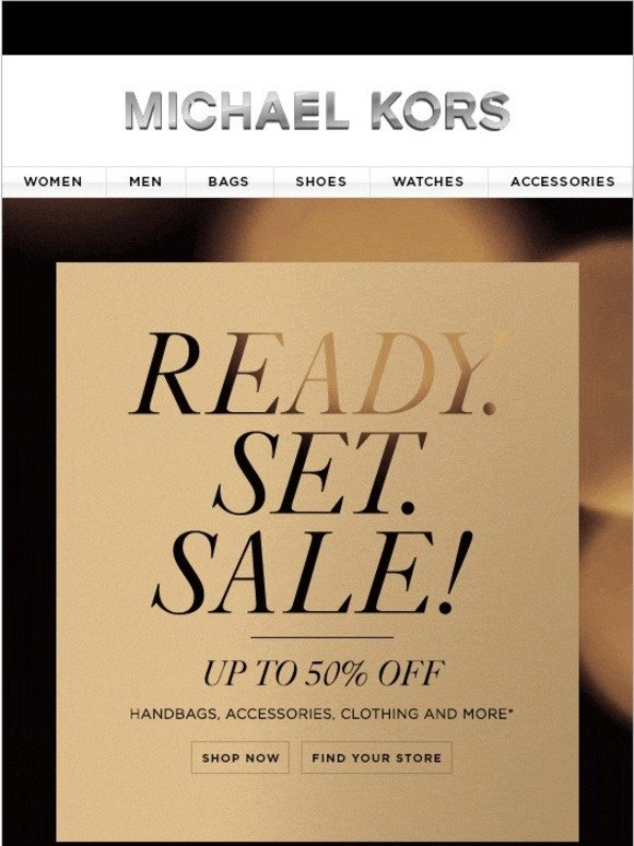 Michael Kors Ready Set Sale Up To 50 Off Milled