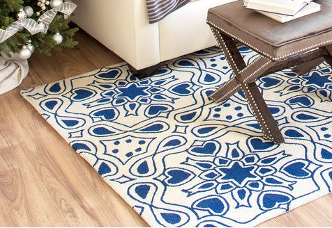 Winter Blues: Rugs in Cool Colors