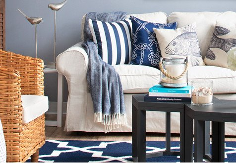 Winter by the Sea: Pillows & More