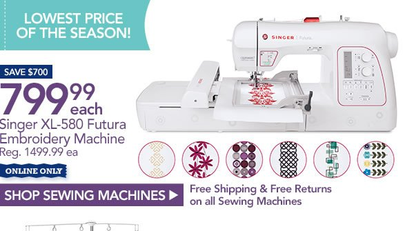 JoAnn Fabric And Craft Store All Sewing Machines Sergers Classy Joann Fabrics Singer Sewing Machines