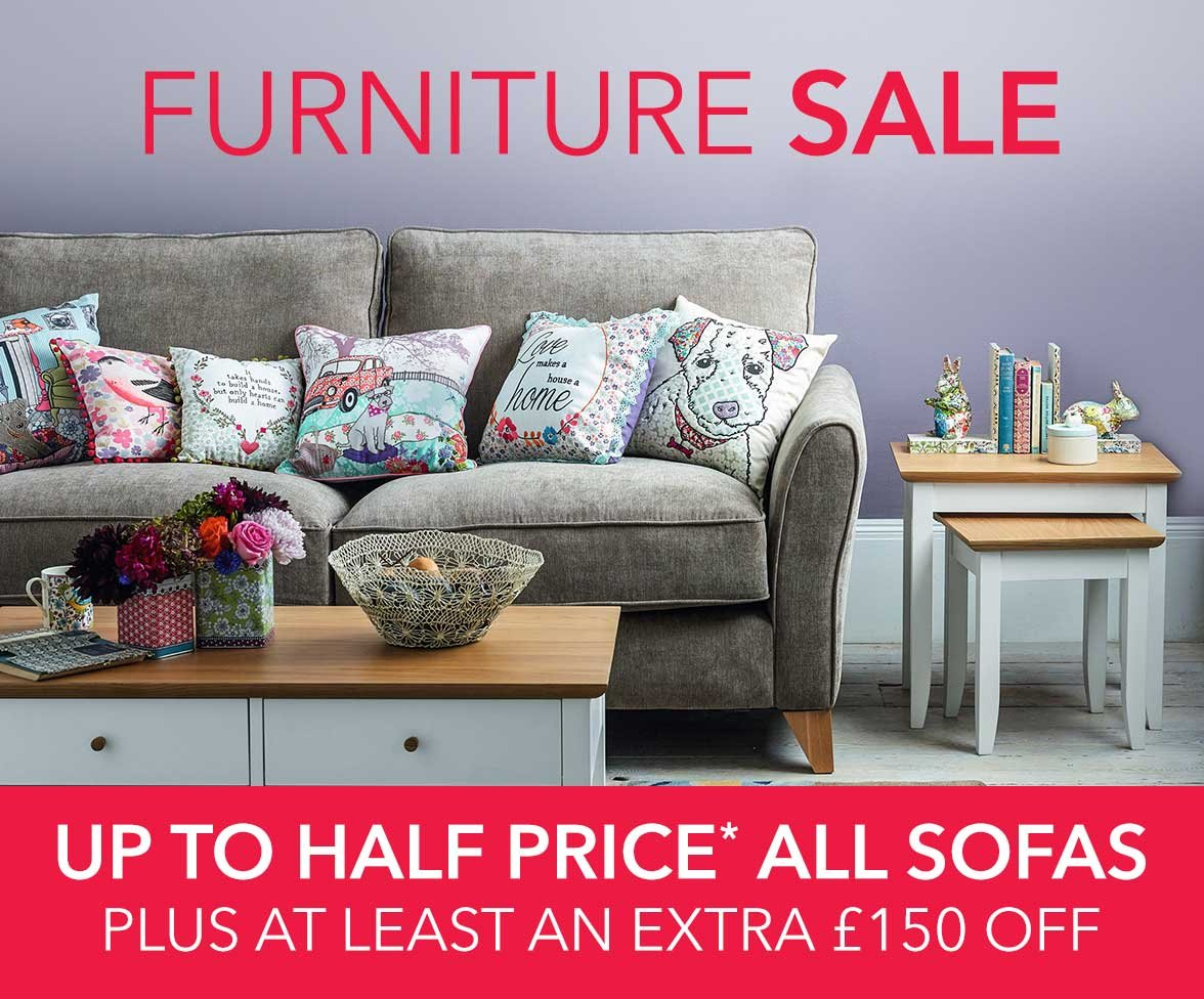 Debenhams: Furniture Sale  Up to 8% OFF dining & bedroom