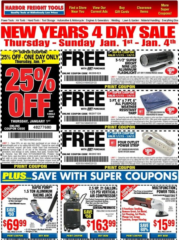 Harbor freight mobile coupons
