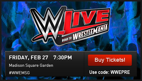 Wwe Shop Here Is Your Presale Password For Wwe In New York Milled