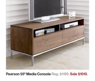 pearson media console