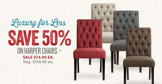 Superb Save 50% On Harper Chairs