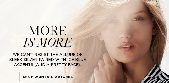 Michael Kors It S Time For A Fresh Faced Watch Milled