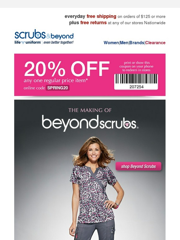 Scrubs & Beyond Shopping Guide