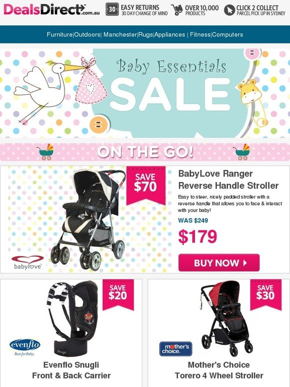 dealsdirect big brand baby bonanza sale ends midnight childcare safety 1st mother 39 s choice. Black Bedroom Furniture Sets. Home Design Ideas