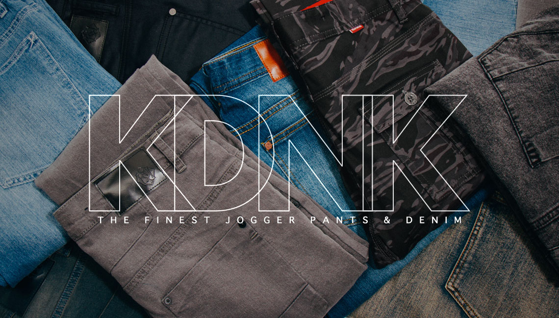 FLASHXHYPE: New Brand: KDNK Just Dropped New Denim, Denim Joggers ...