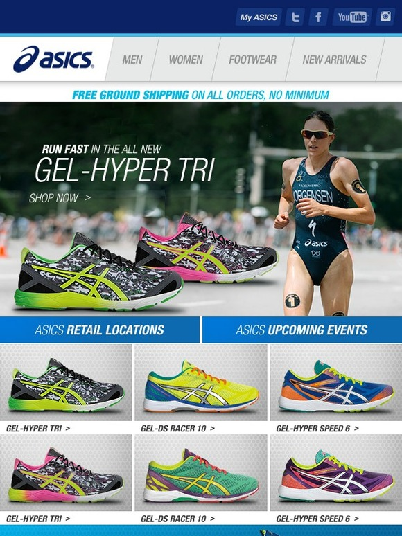 Asics: est Début | de la Hyper chaussure: le GEL Hyper Tri est arrivé | a7aa40f - igoumenitsa.info