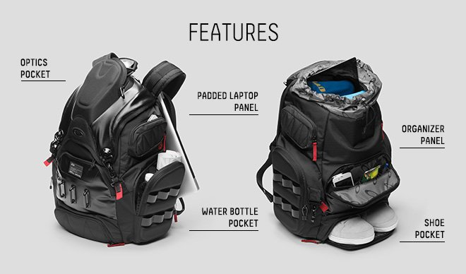 Oakley Vault: Introducing the New Big Kitchen Pack + Free Shipping ...