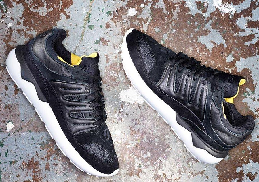 adidas tubular 93 black yellow
